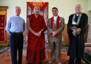 Meeting with Tibetan Buddhist Leader in India
