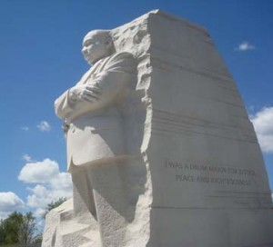 Reverend Martin Luther King Memorial Dedicated