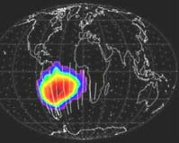 """""""The South Atlantic Anomaly and Charged particles"""""""
