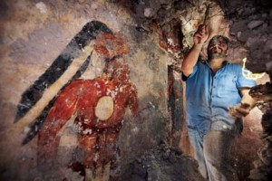 Archaeologist William Saturno Makes Major Maya Mural Find
