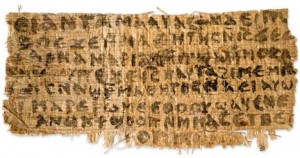 Historian Says Piece of Papyrus Refers to Jesus's Wife