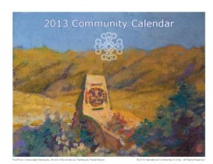 Your 2013 Community Calendar is in the Mail