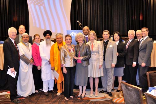 Members of the dais at 2013 Nevada Prayer Breakfast PHOTO: Stephan Fuelling