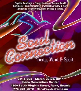 2014 Reno Spiritual and Wellness Expo: Saturday, March 22 – Sunday, March 23, 2014