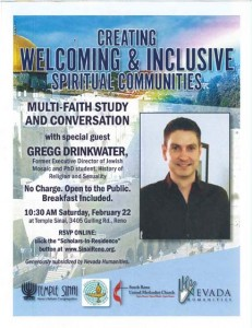 """Creating Welcoming & Inclusive Spiritual Communities"""