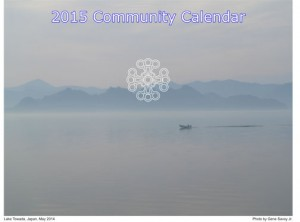 2015 Community Calendar Available