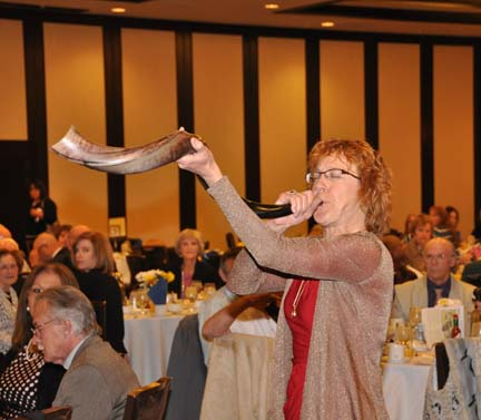 "Call to Assemble: ""Sounding of the Shofar"" – Rabbi ElizaBeth Beyer, Temple Beth Or  PHOTO: Stephan Fuelling"