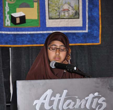 Expression of Faith: Muryum Sulahria, Youth Member, Northern Nevada Muslim Community  PHOTO: Stephan Fuelling