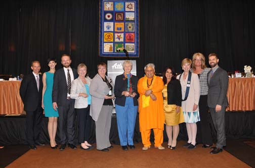 2015 Nevada Prayer Breakfast board members and dais  PHOTO: Stephan Fuelling