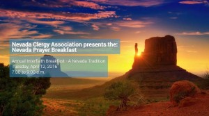Reserve Your Place Now for the Nevada Prayer Breakfast