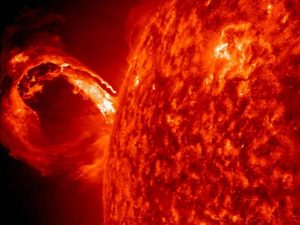 """Did Solar Flares Cook Up Life on Earth?"""