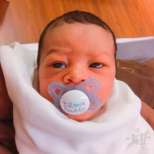 Luca Raye Gadson-Jin is born