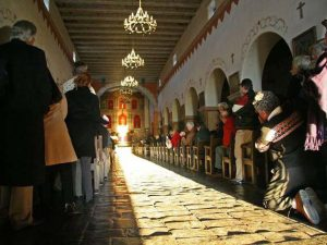 """How the Sun Illuminates Spanish Missions On the Winter Solstice"""