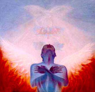 """Spiritual Wings That Take Us To Heaven"""