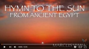 """""""Ancient Egyptian Music: Hymn to the Sun"""""""