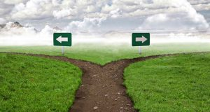 """Two Roads Through Life: Physical and Spiritual"""