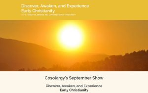 Cosolargy's September Show