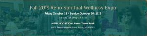 Fall 2019 Reno Spiritual Wellness Expo