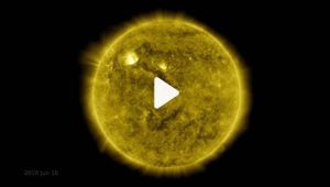 """See stunning 10-year timelapse of the sun"""